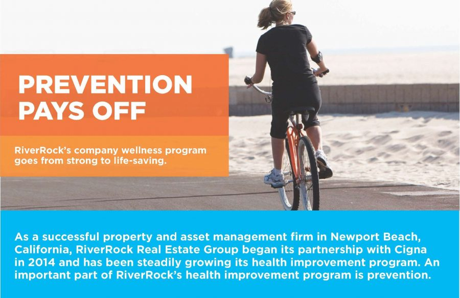 RiverRock's company wellness program goes from strong to life-saving